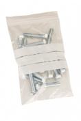 500 x Write on Panel Plastic Reusable Gripseal / Ziploc Bags - 8.9cm x 11cm