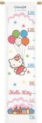 Counted Cross Stitch Height Chart Hello Kitty