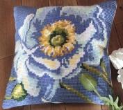 Pavot Electrique Pillow Cross Stitch Kit-38cm - 1.9cm x 40cm