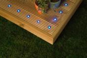 IP68 5 Fitting Kit, Circular (3 LEDs) Blue LEDs