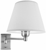Leds C4 La Creu Indoor Lighting Dover I Wall Light, Satin Nickel