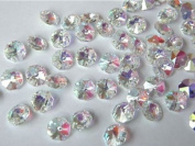 Chandelier Crystals 70 x 14mm AB Coated For Ceiling Light Lamp Jewellery , Hanging Or Any Types Of Project