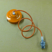 005 Orange 1mt Cable Chandelier Orange Finished Ceiling Rose, Cable & lamp Holder With Shade Ring, Pendant Set for lampshade, lampshades ..