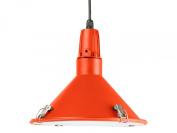 Leitmotiv Inside Out Aluminium Pendant Lamp, Orange