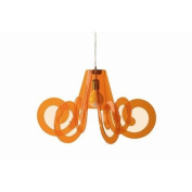 Lucelab Ricciolino 1 Light Pendant Colour