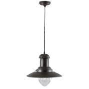 100W Rustic Brown Fisherman Lamp Light Fitting 4301RU