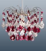 Fuente Garnet Acrylic Lampshade Large