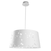 Leds C4 Indoor Lighting Trama Big Pendant, White