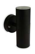 Nartel - Black Double Up Down Wall Light
