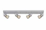 Lucide Winny 17946/24/12 T Spotlights on a Rail 4 x GU10 50 W Aluminium Matt