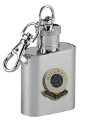Millwall 'The Lions' Football Club 30ml Keyring Hip Flask
