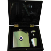 Bolton Wanderers 'The Trotters' Football Club 180ml Hip Flask Gift Set