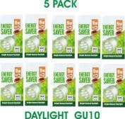 9 Watt Daylight GU10 Ten Pack (ten bulbs) Equiv 40 Watt