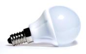 LED basic lamp satin 5W E14 - warm white