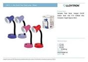 Lloytron Small 40w Flexi Desk Lamp -