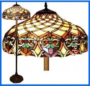 Baroque Tiffany Style Floor Lamp