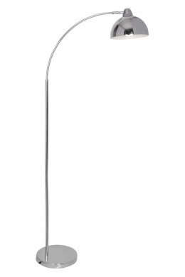 Premier Housewares Calle Floor Lamp, Chrome