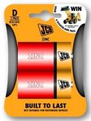 Battery: D: JCB Zinc