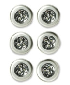 6pc Stick n Click LED Bright Lights - Click Push On Off Light For Kitchen Cupboard Garage
