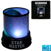 NEW MULTI colour LED SKY STAR PROJECTOR - REQUIRES 3 X AA BATTERIES (NOT INCLUDED) - IDEAL FOR DECORATE HOME,ROOM - OPERATE WITH 2 BUTTONS :STAR AND LED - PUT THIS IN CLOSE ROOM - AUTO FLASHING STAR - PERFECT FOR BIRTHDAY, BEDROOM, WEDDING, ..