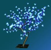 The Benross Christmas Workshop 45 cm 48 LED Blossom Tree, Blue/ White