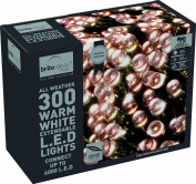 Festive 300 Connectable LED Lights, Warm White