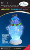 The Benross Christmas Workshop 23cm LED Water Snowman Ornament