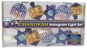 Rite Lite Rite-lite Judaica Chanukah Hologram 10 Light Set