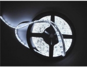 Cool White 5M (16.4ft) 300 LED Strip Light Flexible TAPE RIBBON/ 5 Metres with 300 SMD LEDs DC 12V-- IDEAL FOR KITCHENS, HOME LED LIGHTING, BARS, RESTAURANTS, ETC .
