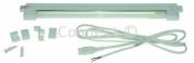 Eterna Link & light 10W T4 ultraslim fluorescent light with triphosphor tube (New mains socket) Cabinet light 390X 19X 43mm