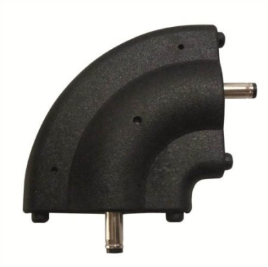 KNIGHTSBRIDGE LEDRACON - PVC Right Angle Connector For Additional Thin Linear Strip Lights