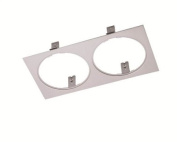 Saxby 10427 - Remano Twin Plate - Silver Paint