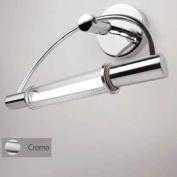 . Halogen Wall Lighting / Bathroom Mirror and Wall Lighting / Designer Wall Lamp / Chrome 08905n