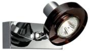 Massive 53080/11/10 Cronus Single Spotlight - Dark Red Glass