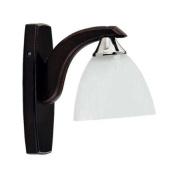 ALFA £OOE WENGE Wall Light Lamp