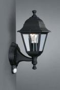 Lima 37.5cm One Light Outdoor Wall Lantern in Black