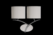 Mantra M0893AB/S Kromo wall 2 light switched