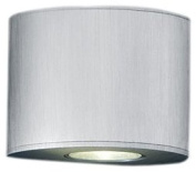 Trio Leuchten 220010205 LED Wall Light Height 6.5 cm Brushed Aluminium Includes 2 x 3 W LED Bulbs 3,500 K 210 Lumens