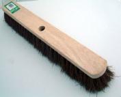 Large hard bassine bristle Bentley broom head. 60cm wide.