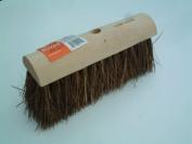 25cm Heavy duty bassine bristle hard yard broom head
