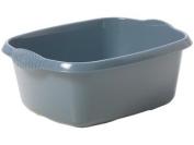 Casa Rectangular Washing Up Bowl - Silver