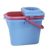 Elliott's Rectangular Mop Bucket and Wringer / Colours may vary