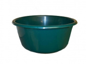 LUCY PLASTIC GREEN LARGE ROUND KITCHEN WASHING UP BOWL