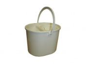 Oval Mop Bucket - White