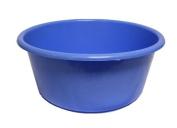 LUCY PLASTIC BLUE LARGE ROUND KITCHEN WASHING UP BOWL