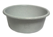 LUCY PLASTIC GRANITE SMALL ROUND KITCHEN WASHING UP BOWL