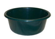 LUCY PLASTIC GREEN SMALL ROUND KITCHEN WASHING UP BOWL
