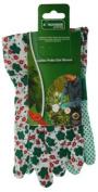 Ladies Flower Style Gardening Gloves, Light Duty Work In The Garden