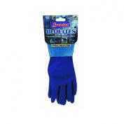 Lehigh Spontex 17005 Bluettes Knit Rubber Glove