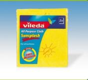Vileda Sunsplash Cloth (Twin Pack) X 3 - 129887
